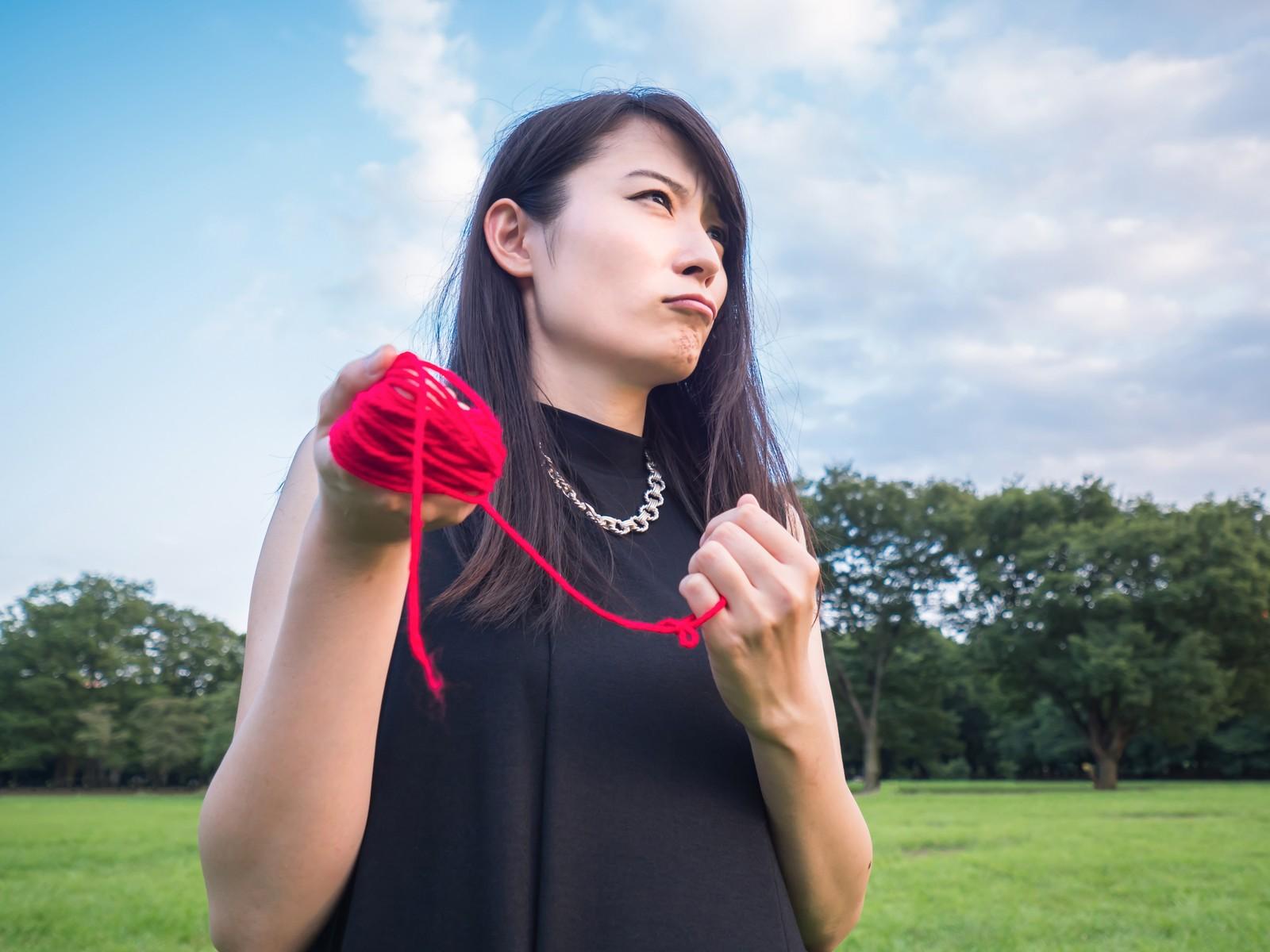赤い糸 女性